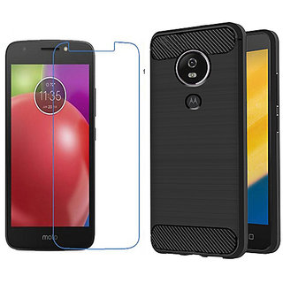 motorola e4 case. motorola moto e4 back case cover plus tempered glass combo,motorola slim a
