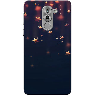 premium selection 0fbfd 1fbef Buy Huawei Honor 6X Case, Shinning Stars Slim Fit Hard Case Cover ...