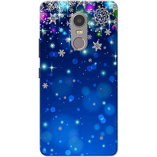 Buy Lenovo K6 Note Case, Blue Stars Slim Fit Hard Case Cover/Back