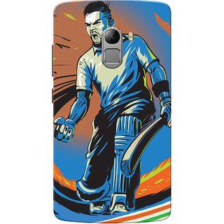Lenovo K4 Note Case, Kohli Blue Slim Fit Hard Case Cover/Back Cover for Lenovo Vibe K4 Note