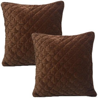 Quilted Cushion Cover (Set of 2 pc)