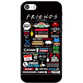 size 40 055fd 0ff54 Buy iPhone 5 Case, iPhone 5S Case, iPhone SE Case, Friends Black ...