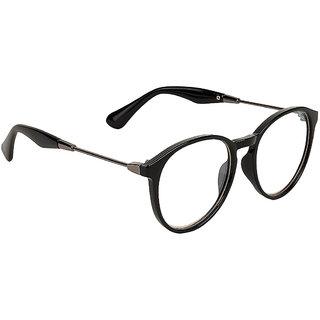 Zyaden Black Round Eyewear Frame 346