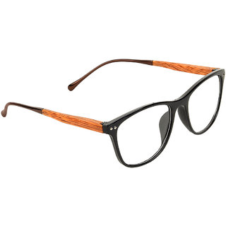 Zyaden Black Rectangle Eyewear frame 350