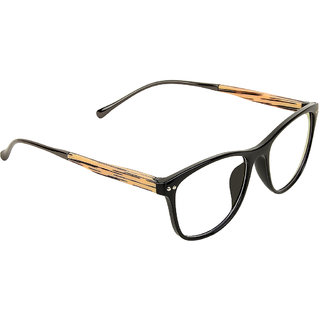 358308fd53 Buy Zyaden Black Rectangle Eyewear frame 352 Online - Get 79% Off