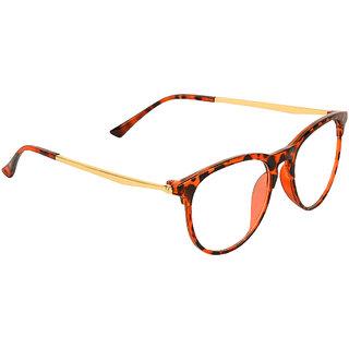 Zyaden Brown Round Eyewear frame 364