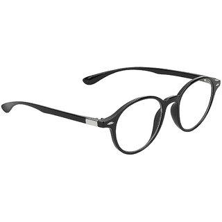 Zyaden Black Round Eyewear frame 372