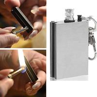 Survival Tool Flint Fire Starter Lighter matchbox