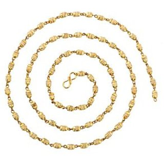 only4you Tulsi Golden Cap Mala 108+1 Breads