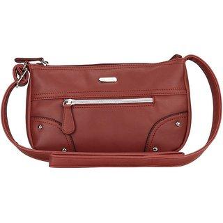 Lavie Dover Brown Sling Bags(Slca858033B2)