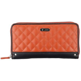 Lavie Orange Melvin Wallet(Wlda778024B2)