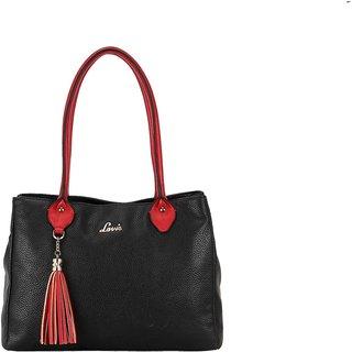 Lavie Black Solid/Plain Shoulder Bags
