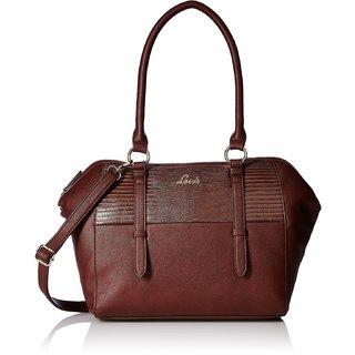 Lavie Peteca Brown Handbags(Hkcs876033B4)