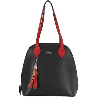 Lavie Black Solid/Plain Shoulder Bags