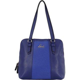 Lavie Blue Solid/Plain Shoulder Bags