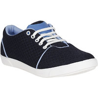 Filberto Mens Navy Lace-up Smart Casuals Shoes