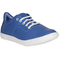 Filberto Mens Blue Lace-up Smart Casuals Shoes