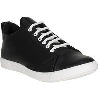 Filberto Mens Black Lace-up Smart Casuals Shoes