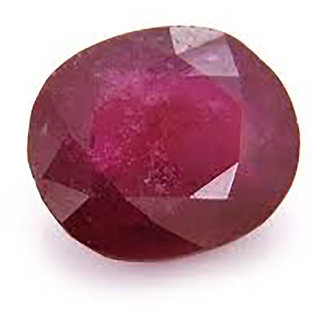 Guarantee Ornament House Ruby gems Manik 4.40 ct for Sun / Surya gemstone for rings and pendants