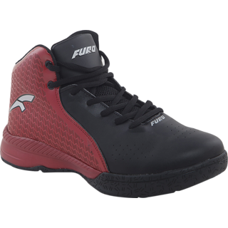 Furo Black Basketball Shoes By Red Chief
