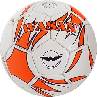 Wasan Copa Football (Orange) with Free Pump