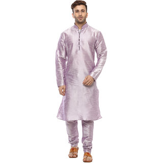 Hangup Solid Kurta  For Mens