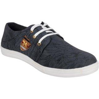 Anson Men's Black Casual Sneakers