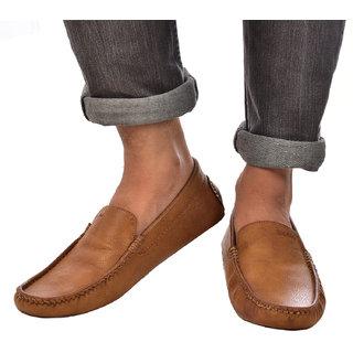 4d4e086bd10df Buy Lee Fox Loafer For Men Tan Colour Online - Get 67% Off