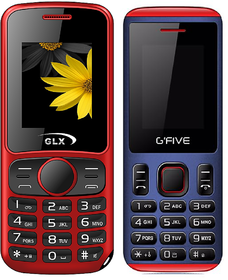 Combo Of GLX W5 RED AND G'FIVE U707 BLUE RED (DUAL SIM