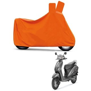 Kaaz Full Orange Two Wheeler Cover For Activa 3G