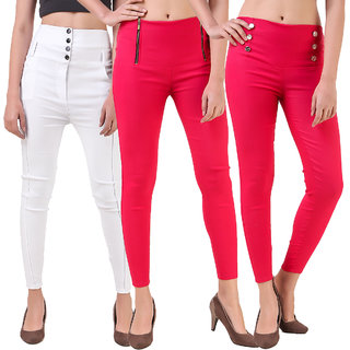 Christy WorldTrending jegging ( SET OF 3)
