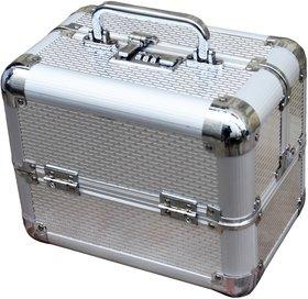 Pride Smile to store cosmetics Vanity Box (Silver)