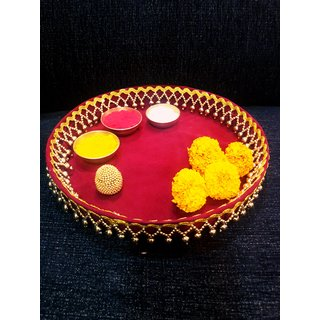 Ethnic Handcrafted Puja Thali