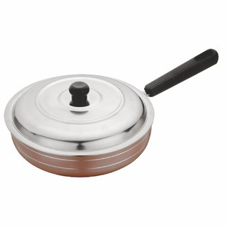 Marlex Enrich (2.6 mm series) Fry Pan with SS Lid 245 mm