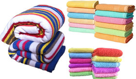 angel homes 1 bath towel 2 hand towel 1 face towel