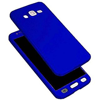 low priced 6e307 30ce2 Samsung J7 Nxt Blue Colour 360 Degree Full Body Protection Front Back Case  Cover Standard Quality