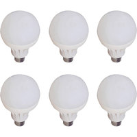 7W LED Bulb Set of 6 Piece Combo Offer