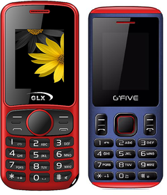 Combo Of GLX W5 RED AND G'FIVE U707 BLACK RED (DUAL SIM