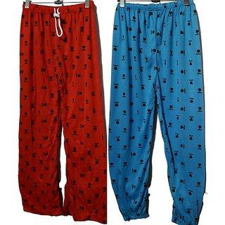 Pack of 2 pc Girls Cotton Pyjama Medium/Large Size