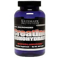 Ultimate Nutrition Creatine Monohydrate 300gm, Ultimate Creatine, Creatine
