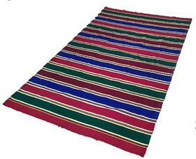 Premium Carpets / Rugs / Yoga Mat / Solapur Carpet /Satranji / Bhavani carpert in Multi colours Woollen Rugs