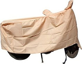 Benjoy Waterproof Coating Bike Body Cover With Mirror Pockets For Hero Achiever