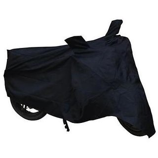 Benjoy Bike Motorcycle Body Cover Black With Mirror Pocket For Honda Activa