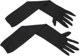 Benjoy - Arm Sleeves Grils,Womens Cold  Sun Protective Full Hand Gloves- Black