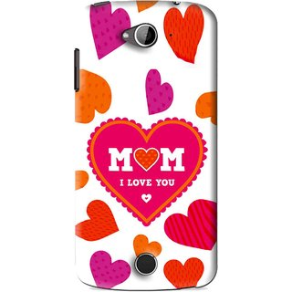 Snooky Printed Mom Mobile Back Cover For Acer Liquid Z530 - White