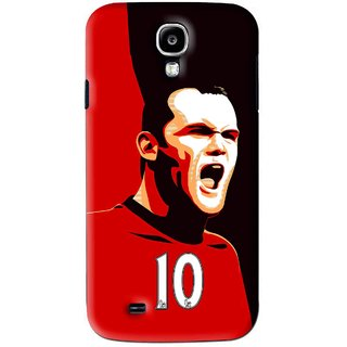Snooky Printed Sports ManShip Mobile Back Cover For Samsung Galaxy S4 - Black