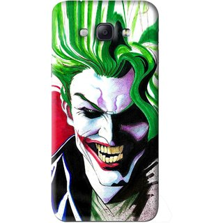 Snooky Printed Joker Mobile Back Cover For Samsung Galaxy A8 - Multi