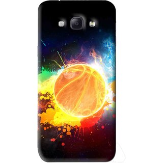 Snooky Printed Paint Globe Mobile Back Cover For Samsung Galaxy A8 - Multi