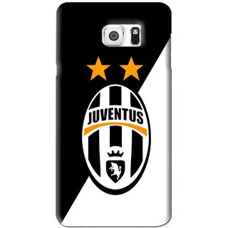 Snooky Printed Football Club Mobile Back Cover For Samsung Galaxy Note 6 - Black