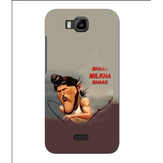 Snooky Printed Bhaag Milkha Mobile Back Cover For Huawei Y560 - Multi